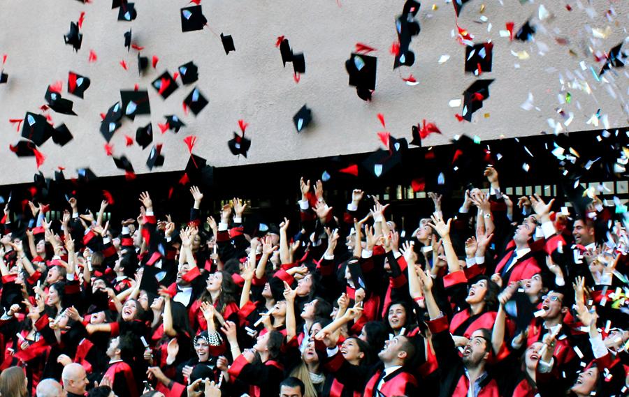 Ankara Hukuk Fakültesi'nde mezuniyet